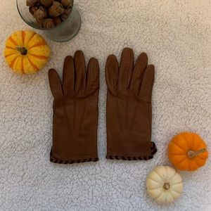 🌟RALPH LAUREN genuine leather driving gloves